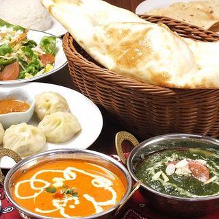 本格ネパールカレー&本場の味タイ料理