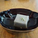 71150218 - 蕎麦豆腐(松花御膳)