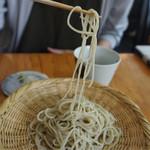 蕎麦 ふくあかり - 十割蕎麦なのに細くて、長〜い!(◎_◎;)