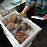 青森魚菜センター - まずは大きそうなのを選んで