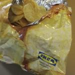 IKEAレストラン&カフェ - お持ち帰りした、ポテトチップス(袋)