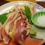 71154193 - 地鶏炙りたたき(980円)