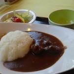 レストラン 青銅館 - 鹿角牛カレー900円