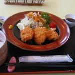 レストラン 青銅館 - 桃豚ヒレカツ定食950円