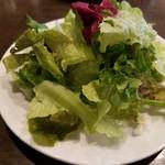 TAGEN DINING CAFE - ランチのサラダ