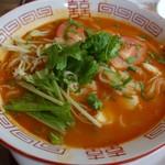 ドゥルガ - 「トムヤムフォー麺」パクチーは別皿で付いてきます