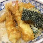 天錦 - ハゼの天ぷらが1番美味しかったです。(^^)