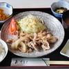 喫茶居酒屋のん - 料理写真:しょうが焼き定食