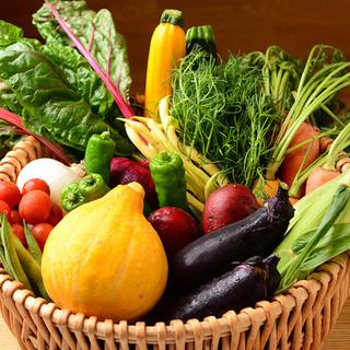 彩り豊かな旬野菜