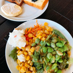 Belle Vege Cafe - 野菜もります