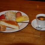 喫茶居酒屋のん - モーニングAセット