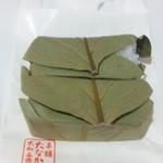 柿の葉すし本舗 たなか  近鉄和歌山店 - 柿の葉すし(鯖・購入時)