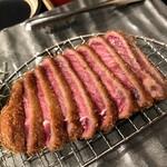 牛カツのタケル - 牛カツ定食890円