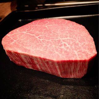 ヒレの王様、国内最高級のシャトーブリアンが食べられます