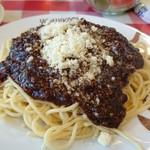 ヨシカミ - スパゲティーミートソース