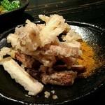 山元麺蔵 - 土ゴボウの天婦羅