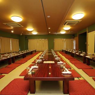 ★片町で最大級★1~3階まで、大小の宴会場を完備!