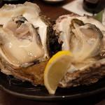 個室ほろり あいう魚、牡蠣くけこ。 - 岩手県赤崎産の岩牡蠣