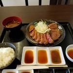71167733 - 下村牛カツ盛合せ定食