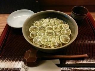 亀蔵 - 「すだち蕎麦」