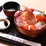 わっぱ茶屋 かわな - 料理写真:南房総花ちらし(特上)1980円+税