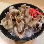 肉そばジョニー - ミニ豚丼