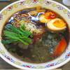 松虎亭 - 料理写真:盛岡醤油老麺+半熟たまご