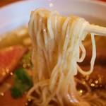 夜須製麺所 - 細麺  にょ〜ん( ´ ▽ ` )ノ