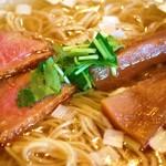 夜須製麺所 - 土佐の鴨塩らぁめん  ズーム