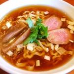 夜須製麺所 - 土佐の鴨醤油らぁめん