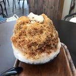 mokumokuとまとcafe - [2017年8月]黒糖とわらび餅のかき氷
