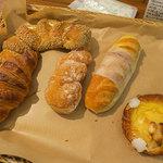 セ・トレボン - どれもとても美味しいパンでした。