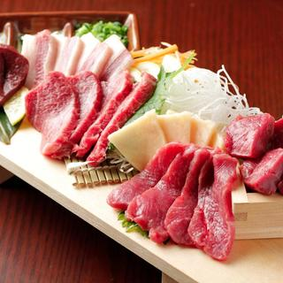 【厳選馬刺し】新鮮桜肉♪