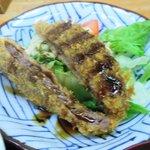 Sennarimochishokudou - 110311千成定食700円ビフカツ