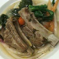 トリカフェ - 豚スペアリブとオーガニック野菜のポトフ仕立て
