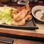 長門焼鳥 水炊き ふくの鳥 - 長州鶏の鍬焼き