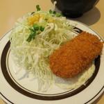 キッチンABC - オリエンタルライス&黒カレー+カニクリームコロッケ6