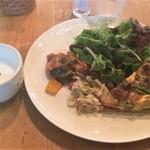 ア・ラ・カンパーニュ - 野菜とチーズのキッシュ