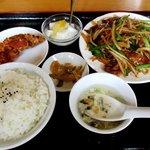 台湾料理 海林 - 料理写真:ニラレバ定食!
