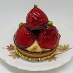 パピヨン - 苺のタルトレット