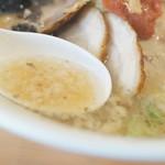 札幌真麺処 幸村 - スープ