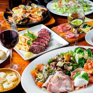 RISE - 例)パーティコースお料理