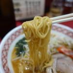万味 - ☆味噌ラーメンの麺(*^^)v☆