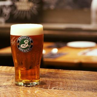 NY人気No.1ビール!BROOKLYNLAGER690円!