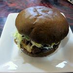 蕎麦処 瑠瞳 - はこだて和牛バーガー