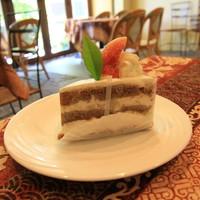 ラヴァンクール-イチジクと梨し紅茶のケーキ 420円