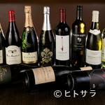 三百屋 お弐階 - ソムリエの徳江威氏が厳選したワインで肉を楽しむ