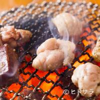 神泉ホルモン 三百屋 - スタミナ満点のホルモンは、夏の飲み会にもってこい