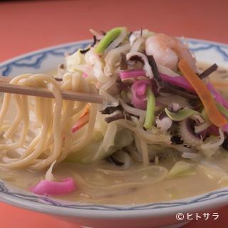代々料理人へ伝わる伝統の味。長崎県本場の『ちゃんぽん』を堪能