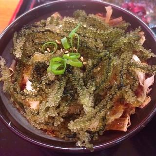 みやらび - ミニ海ぶどう丼